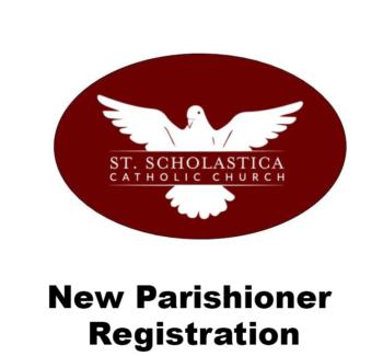 New Parishioner Registration