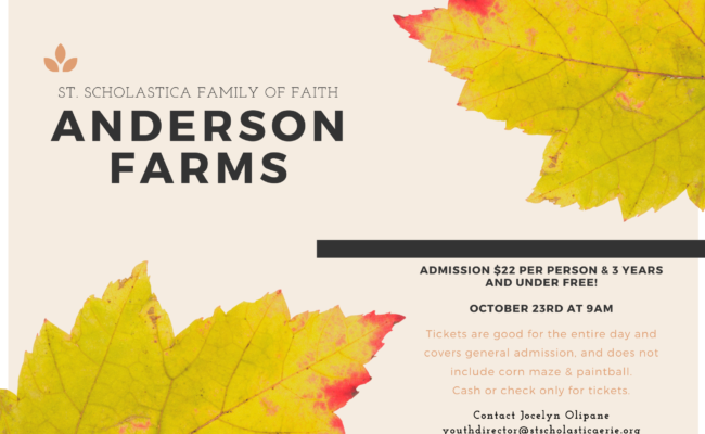 2021 Anderson Farms Oct. 23rd