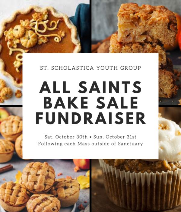 2021 YG All Saints Bake Sale